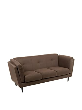 3 seater sofa brown City