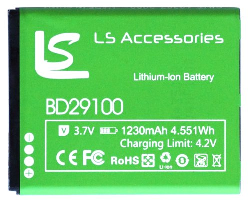 LS Accessories™ BD29100 Battery for HTC HD7, HTC HD7S and HTC Wildfire S