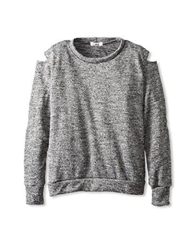LNA Women's Sandstorm Cut-Out Sweater