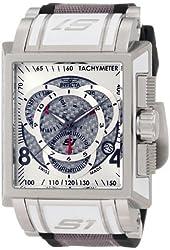 Invicta Men's 1448 S1 Touring Edition Chronograph Black Polyurethane and Grey Fabric Watch