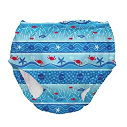 Iplay Boys Mixed Color Ultimate Swim Diaper - This Is for 1 Diaper - Size 3T