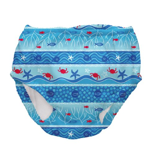 Iplay Boys Mixed Color Ultimate Swim Diaper - This Is for 1 Diaper - Size 4T - 1