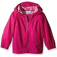 Columbia Girls Switchback Rain Jacket in Haute Pink