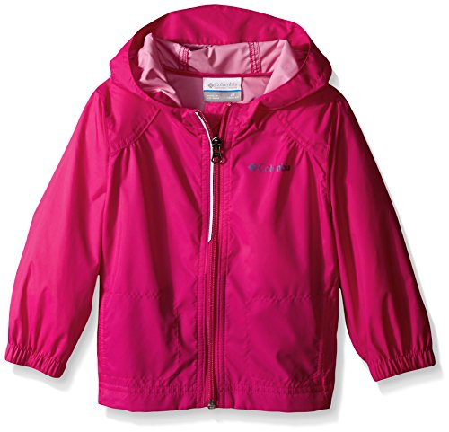 Columbia Toddler Girls Switchback Rain Jacket, Haute Pink, 2T (Rain Jacket Toddler compare prices)