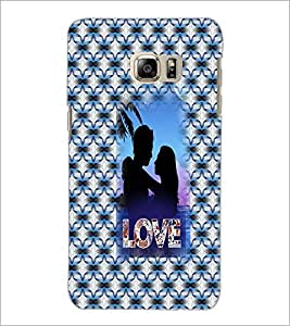 PrintDhaba Couple D-3550 Back Case Cover for SAMSUNG GALAXY NOTE 5 EDGE (Multi-Coloured)