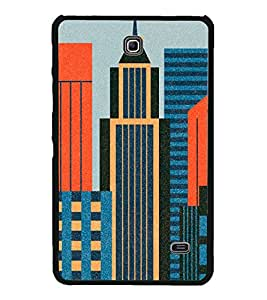 High Rise Buildings 2D Hard Polycarbonate Designer Back Case Cover for Samsung Galaxy Tab 4 :: Samsung Galaxy Tab 4 T231