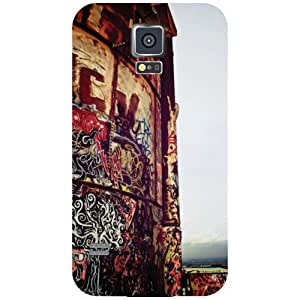 Samsung Galaxy S5 Back Cover - Up Above So High Designer Cases