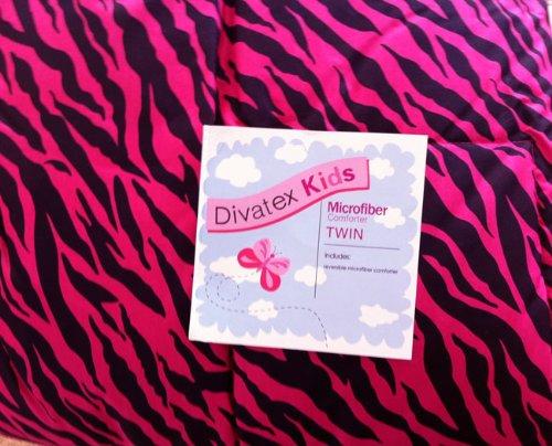 Zebra Hot Pink Bedding front-185498