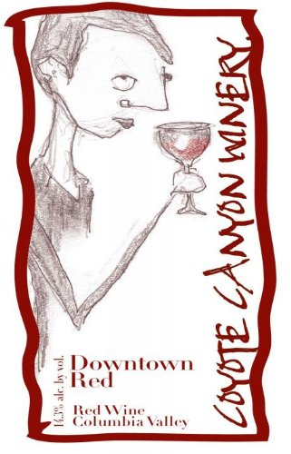 "Nv Coyote Canyon Winery ""Downtown Red"" Horse Heaven Hills Red Blend 750 Ml"