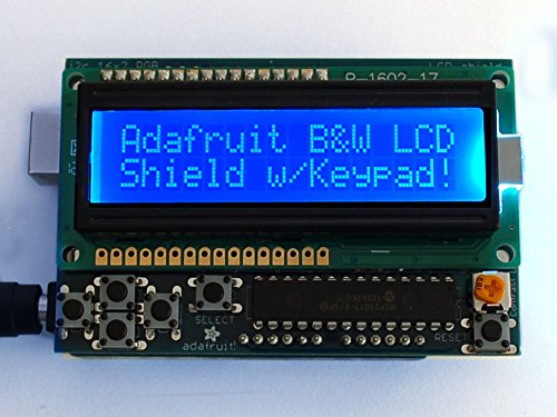 Adafruit Lcd Shield Kit W/ 16X2 Character Display - Only 2 Pins Used!