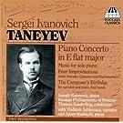 Taneyev Piano Concerto