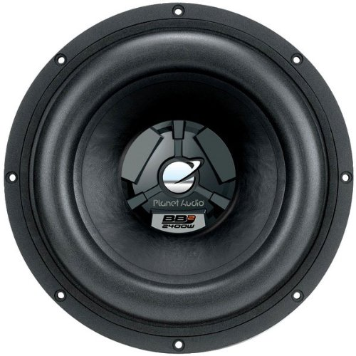 Planet Audio BB215D 15-Inch 3000 Watts 4-OHM Dual Voice Coils Max Power Handling DVC Subwoofer
