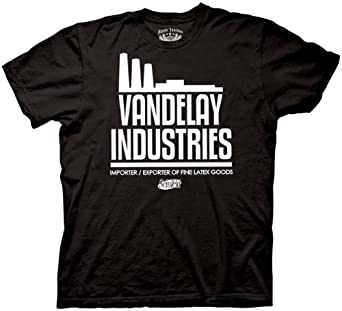 Seinfeld Vandelay Industries T-Shirt, Black, S