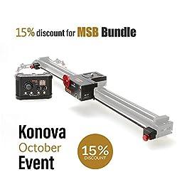 Konova MSB Bundle for K5 120cm Slider(not Include Slider)