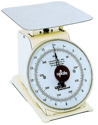 Update International UP-75 Analog Portion Control Scale With Enamel Finish, 5-Pound