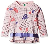 #6: United Colors of Benetton Baby Girls' Blouse (16A3096C0084IK281Y_Light Pink_1Y)