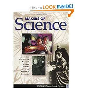 Makers of Science: 5-Volume Set Derek Gjertsen and Michael Allaby