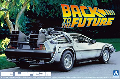 Aoshima Models Delorean from Back to the Future I Building Kit (Delorean Model Kit compare prices)