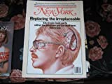img - for New York Magazine (REPLACING THE IRREPLACEABLE...Electronic Body Parts Will Let The Blind See & The Deaf Hear . SOMEDAY !) book / textbook / text book