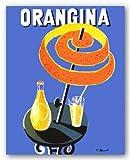Orangina by Bernard Villemot Art Print Poster