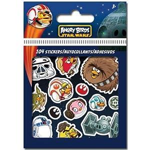 (4x5) Angry Birds Star Wars Stickers