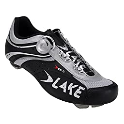 Lake CX175 Gentlemen grey/black (Size: 44) Road Bike shoes