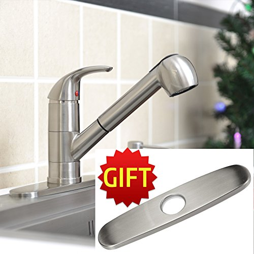 Delta Brushed Nickel Pull Down Faucet Brushed Nickel
