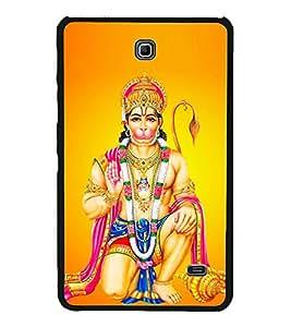 Lord Hanuman 2D Hard Polycarbonate Designer Back Case Cover for Samsung Galaxy Tab 4 :: Samsung Galaxy Tab 4 T231