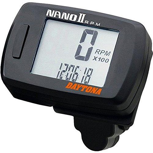 DAYTONA Drehzahlmesser Nano 2 20.000 U/MIN schwarz 86719 Motorrad
