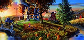 Autumn's Golden Moments 1000pc Jigsaw Puzzle by David Rottinghaus