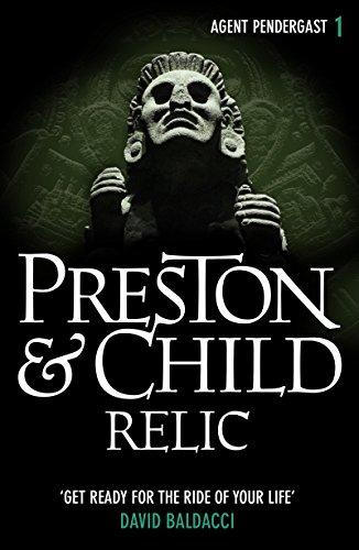 relic-agent-pendergast-series-book-1