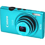 Canon IXUS 125 HS Digital Camera - Blue (16.1MP, 5x Optical Zoom) 3.0 inch LCD