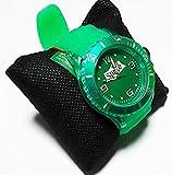 スプライト シースルー シリコン ウォッチ 腕時計 グリーン watch sprite