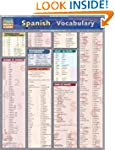 Spanish Vocabulary (Quickstudy: Acade...