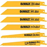 Home Improvement - DEWALT DW4856 6-Piece Metal/Woodcutting Reciprocating Saw Blade Set