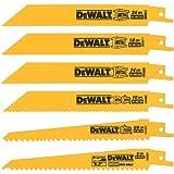 Sierra alternativa juego de 6 hojas de metal  DEWALT DW4856