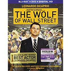 Wolf Of Wall Street [Blu-ray]