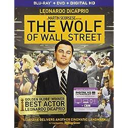 Wolf Of Wall Street [Blu-ray]