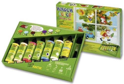 Folia 45007 - Funny Window color ANTIK Profiset 7-er Set