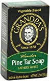 Grandpa's Soap Pine Tar Bar Soap - 3.25 Oz