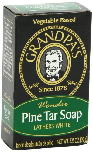Grandpa's Soap Pine Tar Bar Soap – 3.25 Oz, 3 pack image