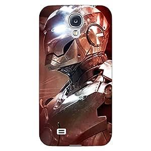 Jugaaduu Superheroes Ironman Back Cover Case For Samsung Galaxy S4 Mini I9192
