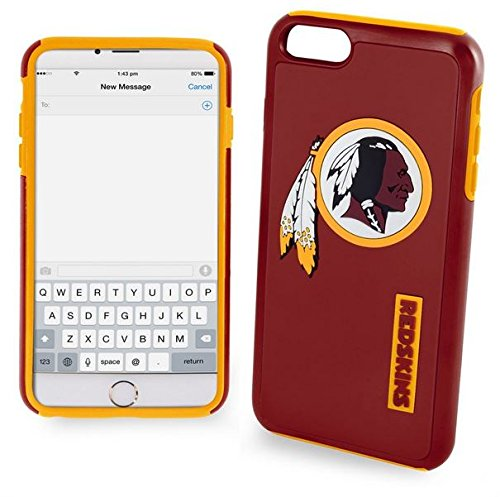 Forever-Collectibles-Licensed-NFL-Cell-Phone-Case-for-Apple-iPhone-66s-Retail-Packaging-Washington-Redskins