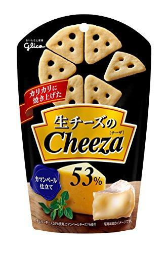 江崎グリコ 生チーズのチーザ カマンベールチーズ仕立て 40g×10個