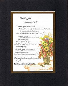 Touching and Heartfelt Poem for Parents - Thank You, Mom and Dad Poem