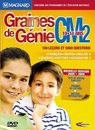 Graines de Génie CM2 - version 2005/2006