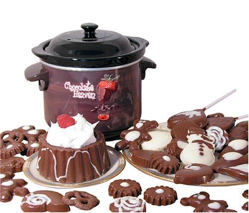 Nostalgia CHM-915 Deluxe Chocolate Heaven Fondue Pot