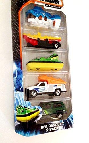 Matchbox Sea Rescue 5-Pack - 1