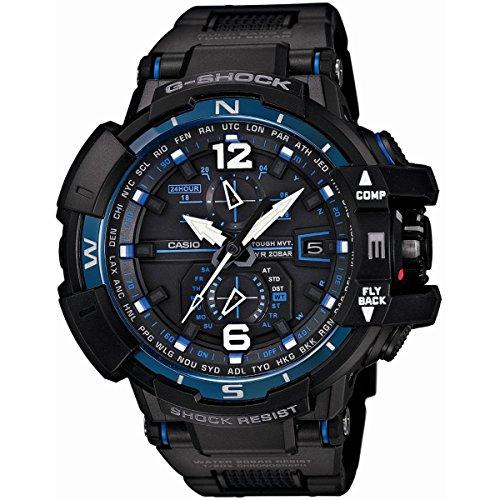 Jacob Time GWA1100FC-1ADR Casio G-Shock Sky Cockpit Tough Solar Mens Watch
