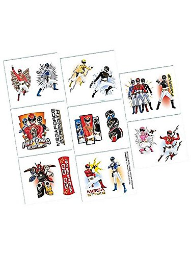 Learn More About Power Ranger Megaforce Tattoos